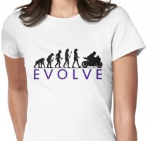 Women's Motorbike Evolution Womens Fitted T-Shirt