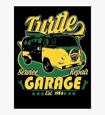 Turtle Garage Photographic Print