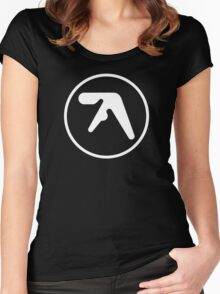 Aphex Twin Cotton Women's Fitted Scoop T-Shirt