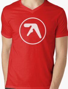 Aphex Twin Cotton Mens V-Neck T-Shirt