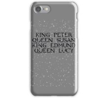 Kings and Queens of Narnia iPhone Case/Skin