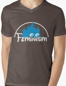 Feminism Castle Mens V-Neck T-Shirt