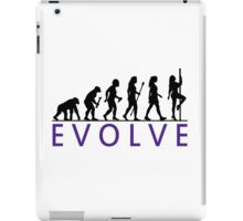 Funny Pole Dancing Evolution iPad Case/Skin