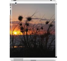 sunset grass iPad Case/Skin