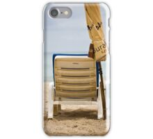beach chair iPhone Case/Skin