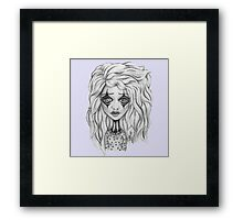 Quit Clowning Around. Framed Print