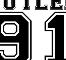 M.Butler on the track Sticker
