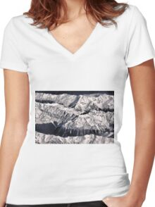 Frosting On The Ranges Women's Fitted V-Neck T-Shirt