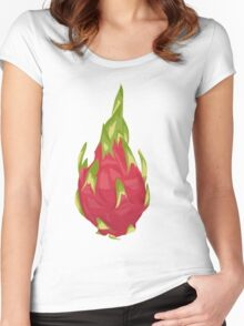 Dragonfruit  Women's Fitted Scoop T-Shirt