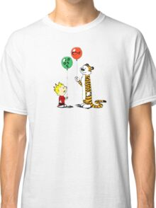 calvin and hobbes ballon Classic T-Shirt