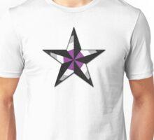 Asexual Nautical Star Unisex T-Shirt