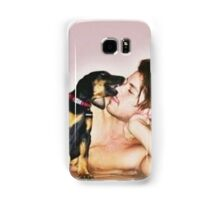 Grant and his dog Samsung Galaxy Case/Skin