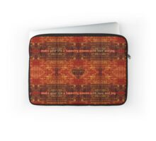 Make Your Life a Tapestry Laptop Sleeve