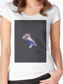 Surreal I Women's Fitted Scoop T-Shirt