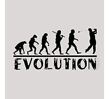 Golf Evolution funny Photographic Print