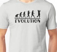 Golf Evolution funny Unisex T-Shirt