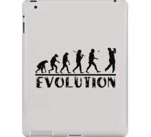 Golf Evolution funny iPad Case/Skin