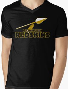 Washington Redskins Mens V-Neck T-Shirt
