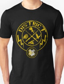 Distressed District 9 3/4 Unisex T-Shirt