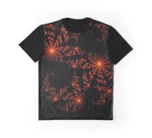 Burning Fractal Graphic T-Shirt