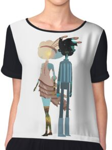 Broken Age - Vella & Shay Chiffon Top