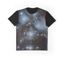 The Pleiades Star Cluster Graphic T-Shirt