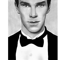 Sherlock - Benedict Cumberbatch Photographic Print