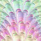 Pastel Fan by Colleen Farrell