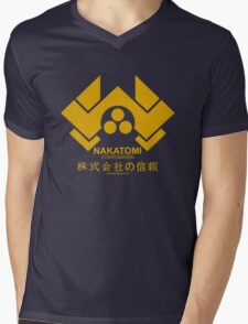 NAKATOMI HARD Mens V-Neck T-Shirt