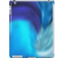 psychedelic blue iPad Case/Skin