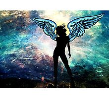 The Universe is my Angel Photographic Print