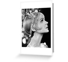 Carey Mulligan - Daisy from The Great Gatsby Greeting Card