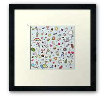 Is It Summer Yet? Framed Print