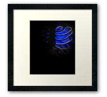 Your Soul - Blue - Integrity Framed Print