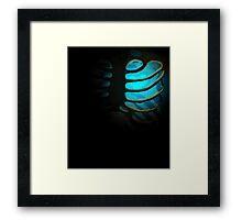 Your Soul - Light Blue - Patience Framed Print