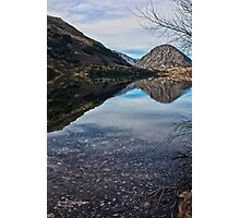 Reflections on Lake Selfe, Canterbury, New Zealand Photographic Print