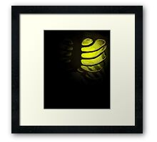 Your Soul - Yellow - Justice Framed Print