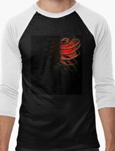 Your Soul - Red - Determination Men's Baseball ¾ T-Shirt