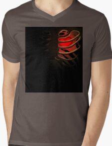 Your Soul - Red - Determination Mens V-Neck T-Shirt