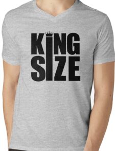 KING SIZE! Mens V-Neck T-Shirt