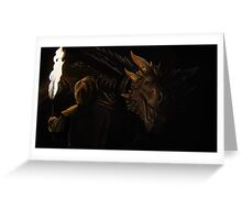 A Throne for Dragons Greeting Card
