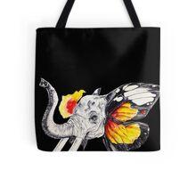 L'éléphant Magnifique Black Tote Bag