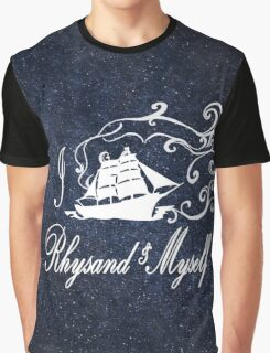 I Ship Rhysand and Myself Graphic T-Shirt