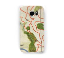 Map 2015 Samsung Galaxy Case/Skin