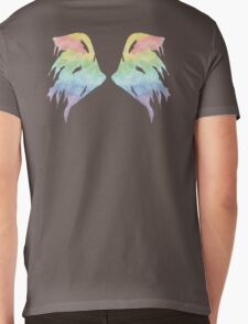 Rainbow Wings Mens V-Neck T-Shirt