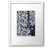 Losing my Marbles Framed Print