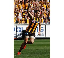 Luke Hodge - Hawthorn - AFL Photographic Print