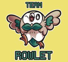 Team Rowlet Baby Tee