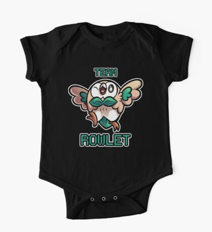 Team Rowlet One Piece - Short Sleeve