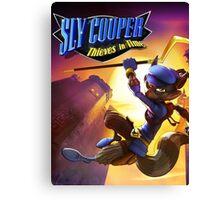 sly cooper 2016 thieves nakula Canvas Print